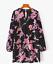 AU-seller-Black-vintage-chic-hippie-floral-velvet-v-neck-long-blouse-mini-dress thumbnail 3