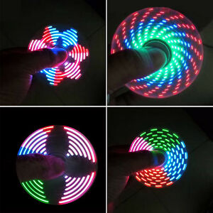 18-Changings-LED-Rainbow-Light-Hand-Spinner-Tri-Fidget-EDC-Toy-Focus-ADHD-Sweet