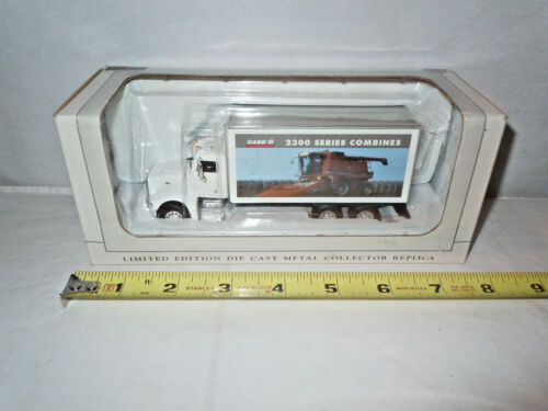 Case IH 2300 Series Combines Peterbilt Van Box Truck By SpecCast 164th Scale?