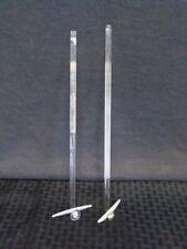 Wilmad Lab Glass 13 14 Half Ground Stirring Shaft Rod 337mm X 10mm 2pack B