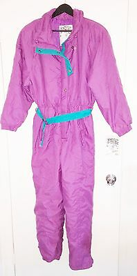 Vintage One Piece Ski Suit - New Old Stock - NEWFACE - Women's Size 12