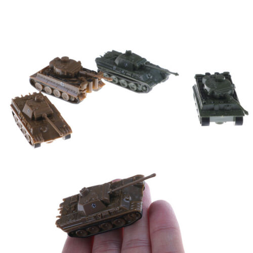 4D Sand Table Plastic Tiger Tanks Toy 1: 144 La Segunda Guerra Mundial AlemaniPD