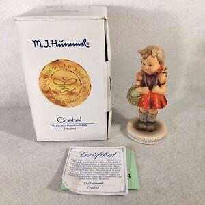 "Goebel Hummel Figurine # 81 2/0 ""School Girl"" TMK7 Master Painter Signed 4"""