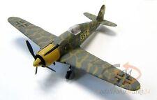 Luftwaffe Focke Wulf Fw190 Jagdbomber 352-1 bemaltes Modell Scale ca. 1:72
