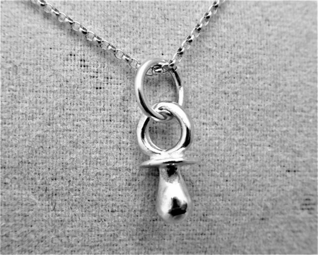 """Sterling Silver (925)  Solid 3D Charm """"Dummy"""""""