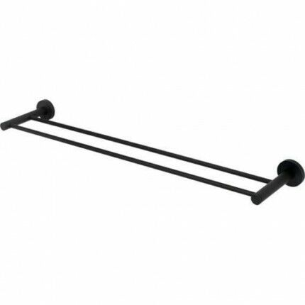Contemporary I Series 24 Inch Double Towel Bar Alno A8325-24-BRZ