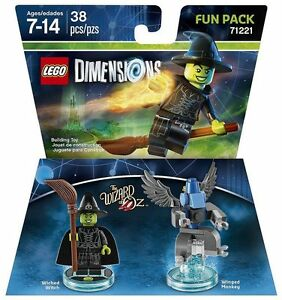 LEGO-DIMENSIONS-The-Movie-Fun-Pack-Wicked-Witch-Wizard-of-Oz-71221-38pcs-NIB