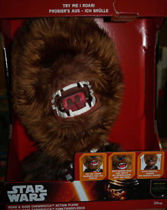 Star Wars - Figurine en peluche fonctionnelle Chewbacca Sw02260, 30 cm, neuve et moderne