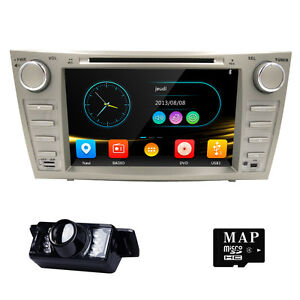 8 toyota camry 2007 2011 gps navigator car dash dvd stereo system reverse camera ebay. Black Bedroom Furniture Sets. Home Design Ideas