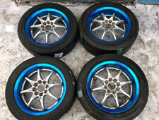 "Rare Rays Volk Racing NRS 15"" R15 4x100 6J 7J Mugen Spoon TE37 CE28 wheels Japan"