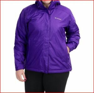 Plus Ski Ny Hættejakke Frakke Columbia Women Size Isoleret 1x RzwTUaq5