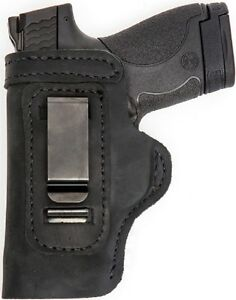 LT-BLACK-CUSTOM-IWB-Leather-Holster-YOUR-CHOICE-rh-lh-laser-slide-cant-belt-mag