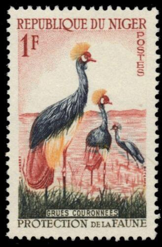 NIGER 91 (Mi1) - African Crowned Crane