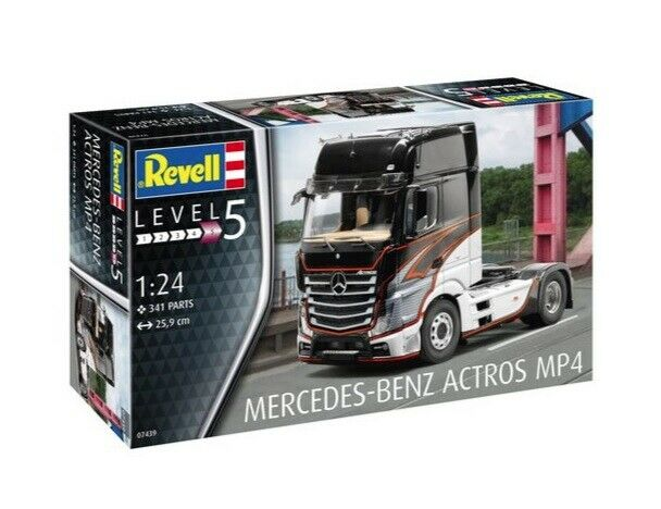 Revell 1 24 Mercedes-Benz Actros MP4