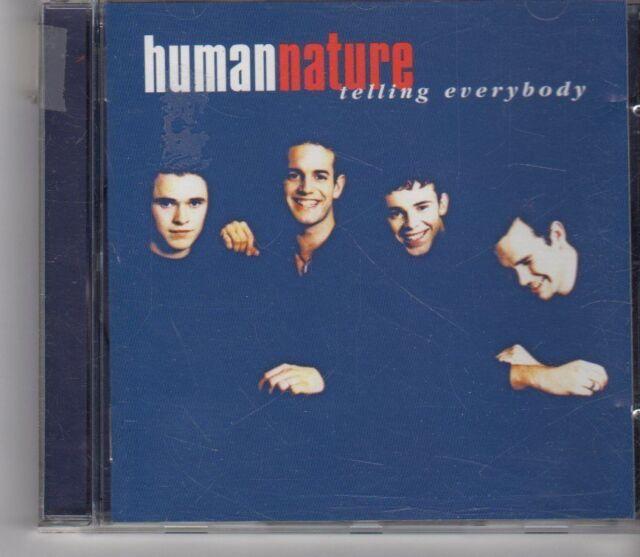 (GA625) Human Nature, Telling Everybody - 1997 CD
