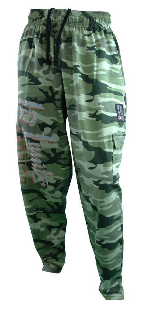 Legal Power Body Pants Camou grün M Aktion