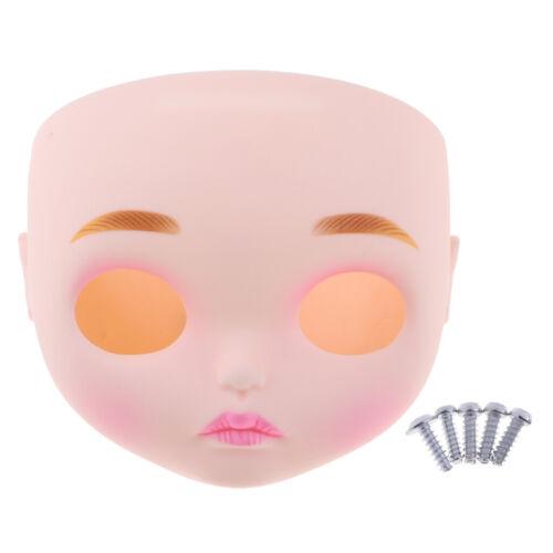 """Puppe Faceplate mit Linie Lippen für 12 /""""Takara Neo Blythe Chang Gesicht"""