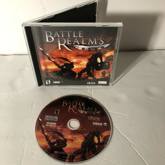 Battle Realms (PC, 2001) Windows 95/98/ME