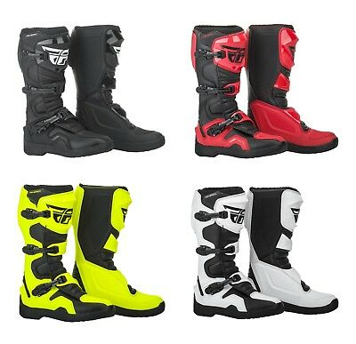 Fly Racing Unisex-Adult Maverick Mix Boots Hi-Vis, Size 13