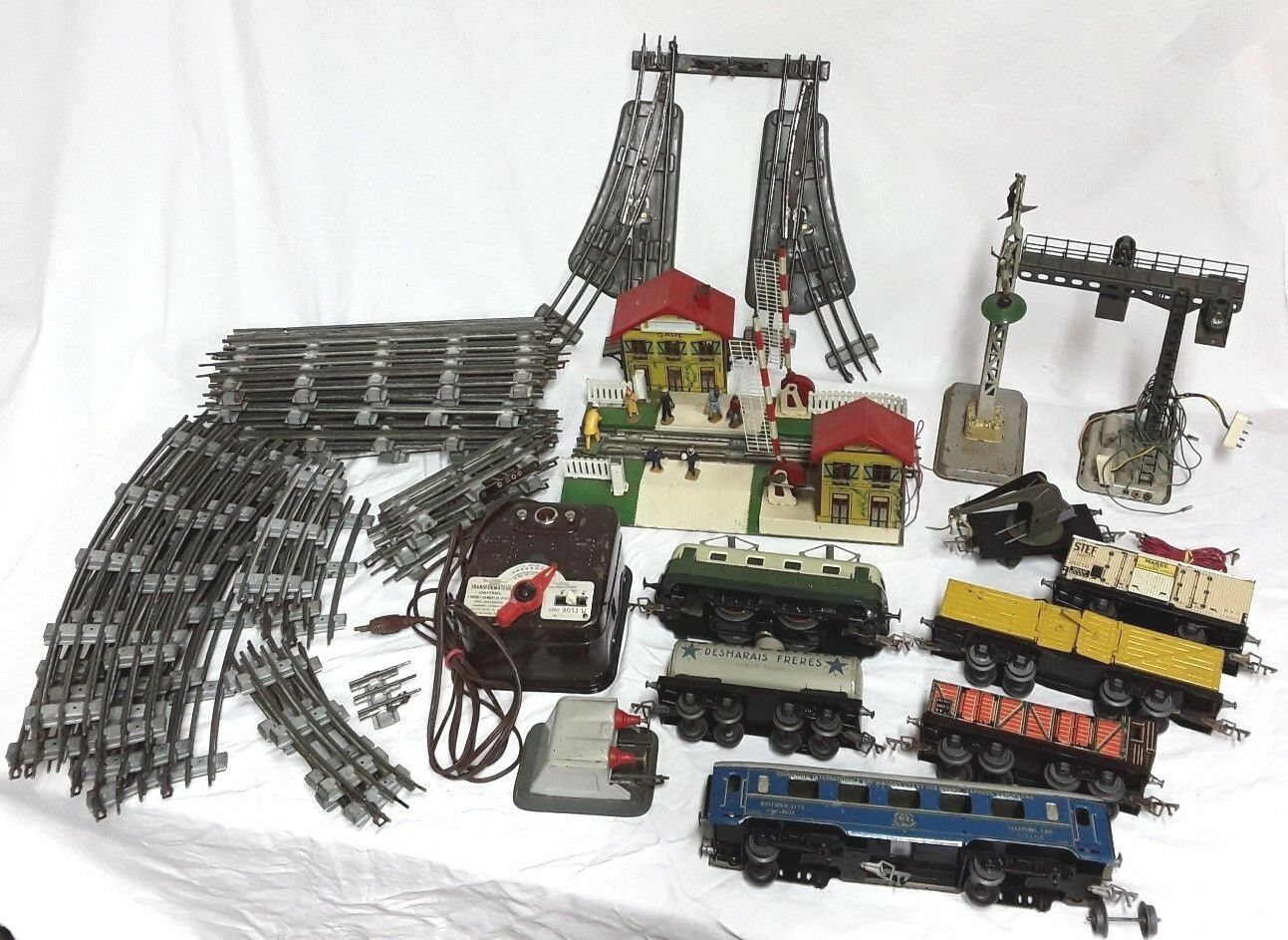 Jep   Train Bundle Locomotive SNCF Wagons Station Transformer Arch Level Rails