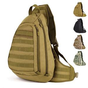 Tactical-Shoulder-Bag-Army-Military-Sling-Bag-1000D-Nylon-Molle-Camouflage-Bag