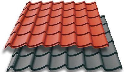 Einfach Blechdach Profilbleche Mattaldach,blechdapfannen HöChste Bequemlichkeit Dachplatten Trapetzbleche