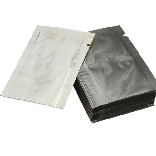 100-1000pcs 10x15cm Aluminum Foil Mylar Bags Heat Seal Vacuum Food Storage Pack