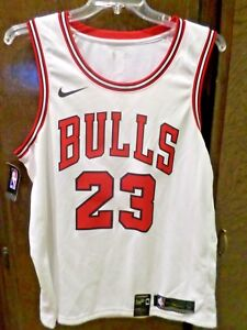 free shipping cc97a ec275 Nike Men's (XL 52) Michael Jordan Swingman Jersey White ...