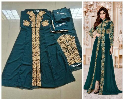 Indian Party Weding Designer Anarkali Salwar Kameez Suit Dress Long Gown Stylish