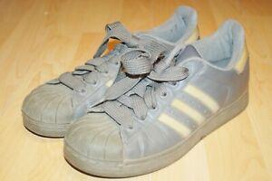 Graue-Adidas-Damen-Sportschuhe-Sneaker-Gr-41-1-3