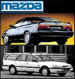 mazda 626 gd ge mx6 probe telstar sedan coupe workshop manual cdrom rh ebay com au 1991 Mazda 626 1996 Mazda 626