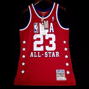 sale retailer b2aa6 03a74 100% Authentic Michael Jordan Mitchell & Ness 89 All Star ...