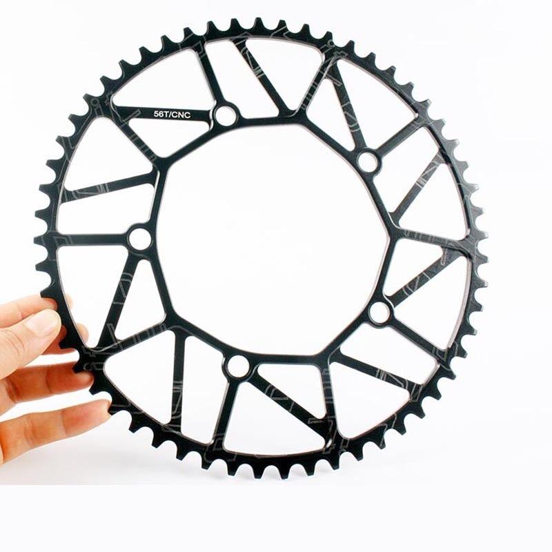 Faltende Rennrad-Kurbelgarnitur 170mm Kurbel-Set 130bcd Radfahren Kettenblatt