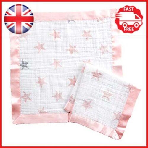 Muñeca Aden por Aden 100/% algodón muselina Anais issie manta de seguridad 2 Pack