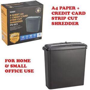 shredder elettrico  6SHEET A4 ELECTRIC DESKTOP PAPER CARDS SHREDDER 6SHEET SHREDER ...