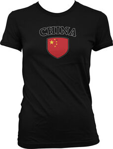 China-Flag-Crest-Chinese-Red-Dragon-National-Country-Pride-Juniors-T-shirt