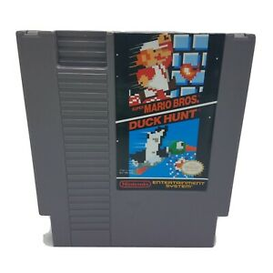 NES-Nintendo-Super-Mario-Bros-Duck-Hunt-Cart-Only-Cleaned-amp-Tested