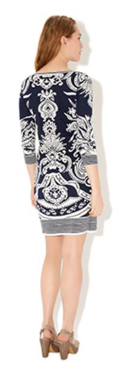 MONSOON Aida Jacquard Print Print Print Dress BNWT c110b8