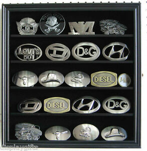 Small 3 belt buckle display case wall shadow box cabinet glass image is loading small 3 034 belt buckle display case wall planetlyrics Gallery