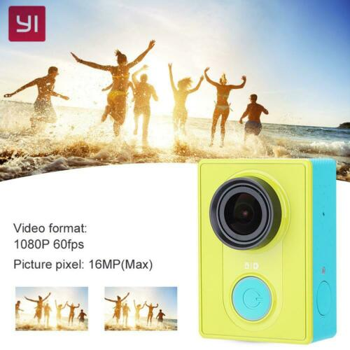 Genuine Xiaomi Yi WiFi Sport Action Camera Cam 1080P 16MP Highdefinition 155""