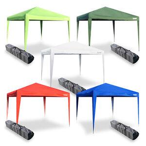 Gazebo-stand-tenda-richiudibile-3x3-pieghevole-fisarmonica-automatico-mercato