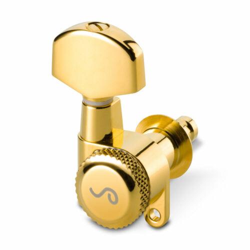 Gold, .02 Schaller M6 Locking Tuners 3 x 3 180 Screw