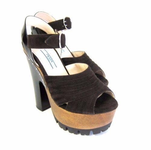cm scarpe 2 Prada sandalo 15 da 997150 S aperto Sandalo Nuovo OPv7wqZ