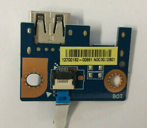 Genuine-Toshiba-Satellite-S50D-USB-Board-With-Cable-NOC3G12B01