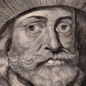 Portrait-XVIIIe-Jean-II-D-039-Avesnes-Jean-Ier-de-Hainaut-Count-Of-Holland