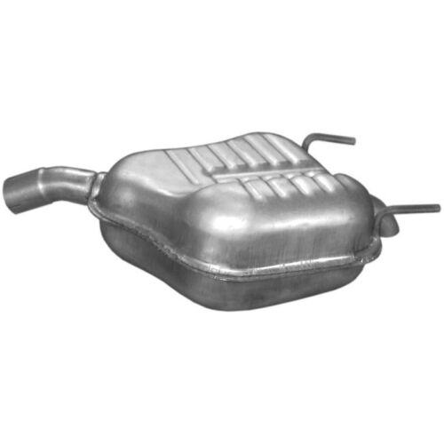 Nachschalldämpfer Auspuff für Opel Vectra 2,2i 04//02-01//04  2198ccm