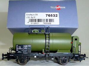 CSD-Kesselwagen-Zek-gruen-Bremserhaus-EpIV-TILLIG-76532-H0-1-87-OVP-NEU