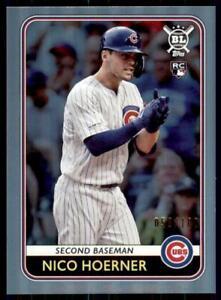 2020-Big-League-Base-Rainbow-Foil-139-Nico-Hoerner-RC-58-100-Chicago-Cubs