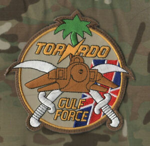 ROYAL AIR FORCE PANAVIA TORNADO FIGHTER BOMBER OPERATION TELIC PATCH