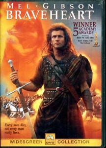 Braveheart-DVD-Mel-Gibson-FREE-SHIPPING-CANADA